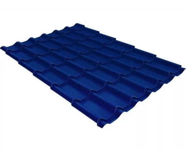 Металочерепица Вилейская волна синий