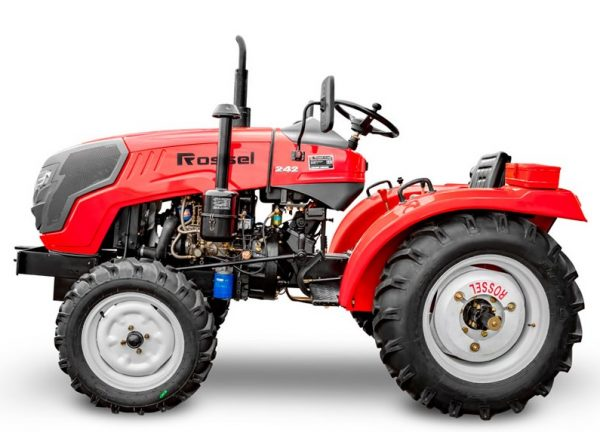 мини трактор дизельный Rossel RT-242D