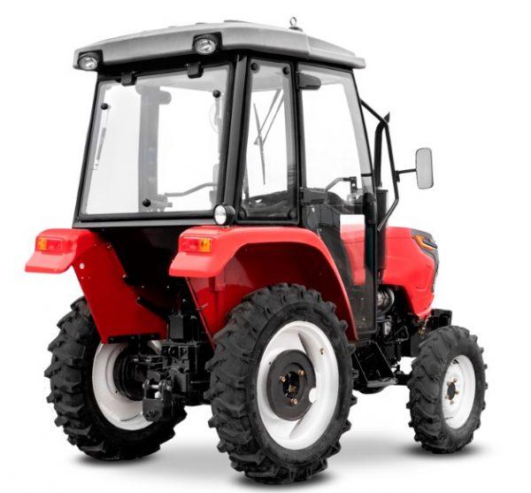 Мини-трактор с кабиной и печкой Rossel RT-282D